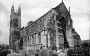 Bridlington, The Priory Church, South East c.1885
