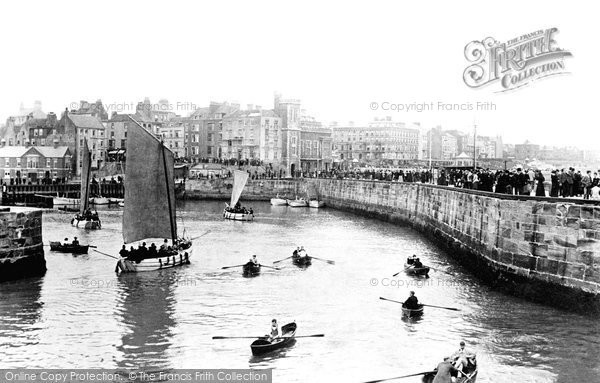 Bridlington, The Quay 1893
