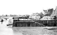 Bridlington, The Quay And Harbour 1886