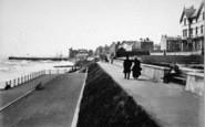 Bridlington, The Quay And Promenade 1897