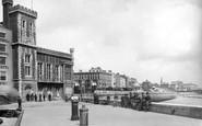 Bridlington, The Quay c.1885