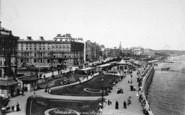Bridlington, The Quay, Prince's Parade 1897
