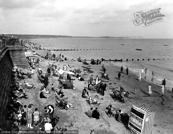 Bridlington, The Sands 1926
