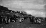Bridlington, The Sands c.1885