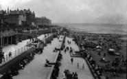 Bridlington, The Terraces 1927