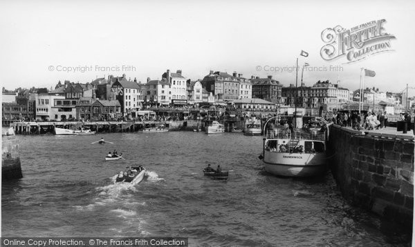 Bridlington, Thornwick In The Harbour c.1960