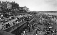 Bridlington, Victoria Terrace And North Beach c.1955