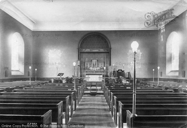 Bridport, Allington Church Interior 1904