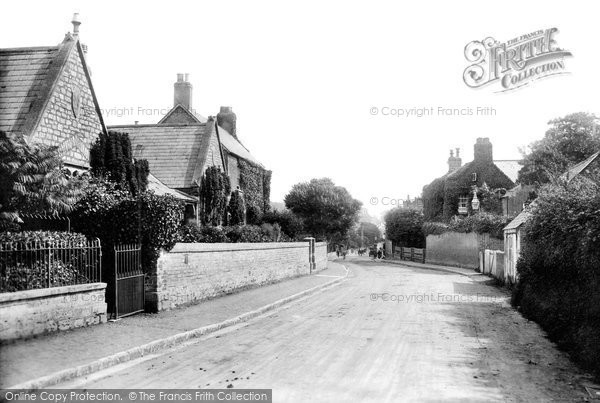 Bridport, Almshouses 1903