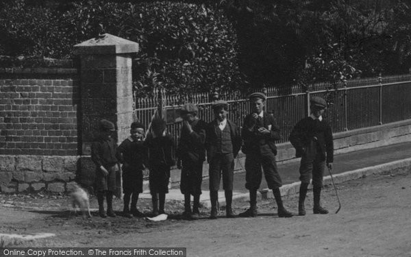 Bridport, Boys In West Allington 1897