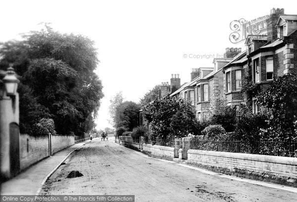 Bridport, Bradpole Road 1903