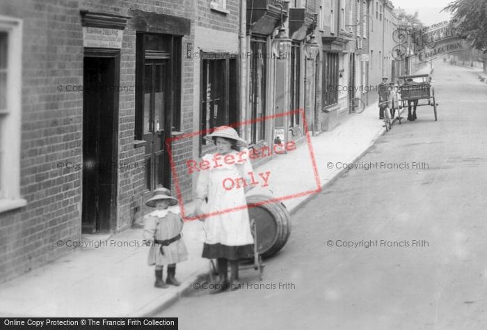 Bridport, Children 1912