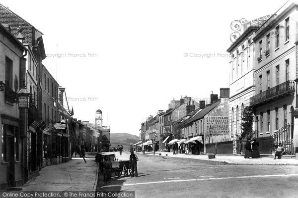 Bridport, East Street 1897