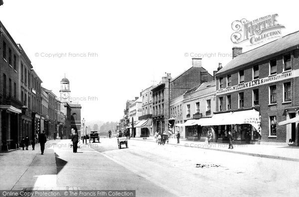 Bridport, East Street 1902