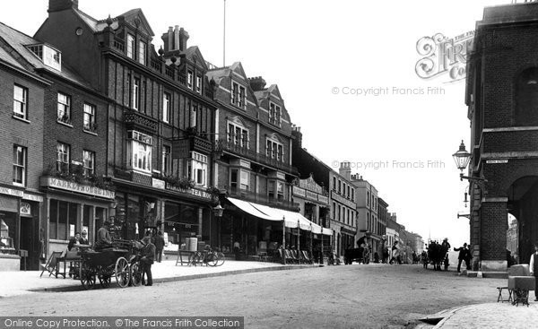 Bridport, East Street 1904
