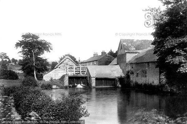 Bridport, East Street Old Mill 1899