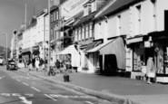 Bridport, East Street, Shops c.1965