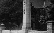 Bridport, North Street, Cenotaph 1922