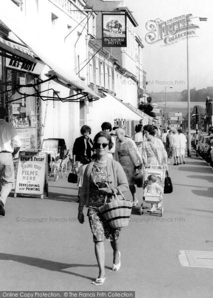 Bridport, Shopping In West Street 1966