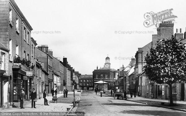 Bridport, South Street 1897