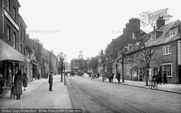 Bridport, South Street 1927