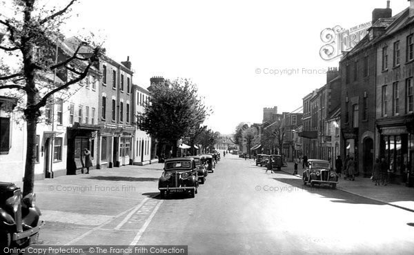 Bridport, South Street 1949