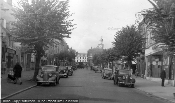 Bridport, The Broadway 1948
