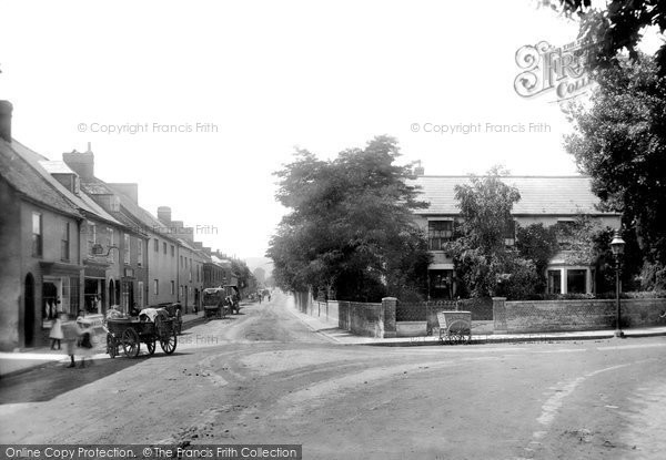 Bridport, West Allington 1899