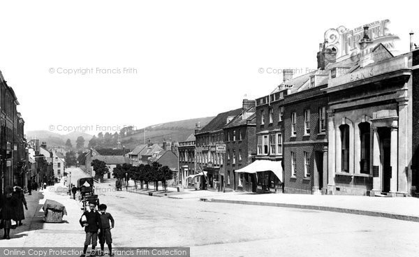 Bridport, West Street 1902