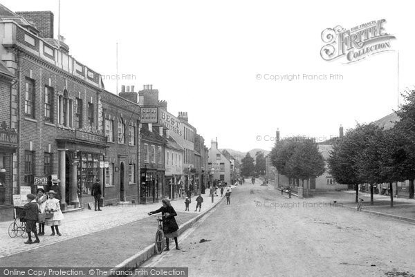 Bridport, West Street 1904