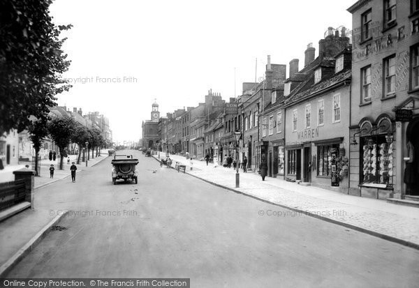 Bridport, West Street 1912