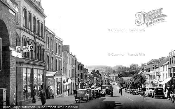 Bridport, West Street 1949