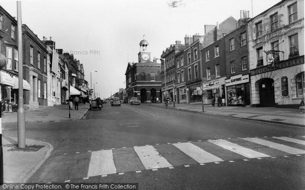 Bridport, West Street c.1960