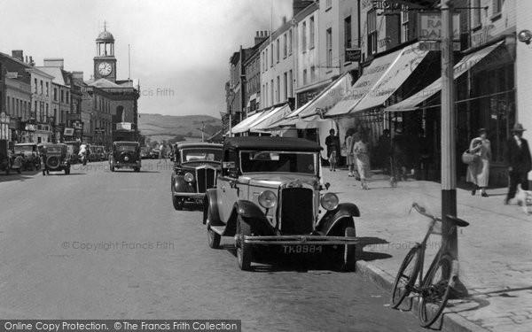 Bridport, Wolesley Car 1937