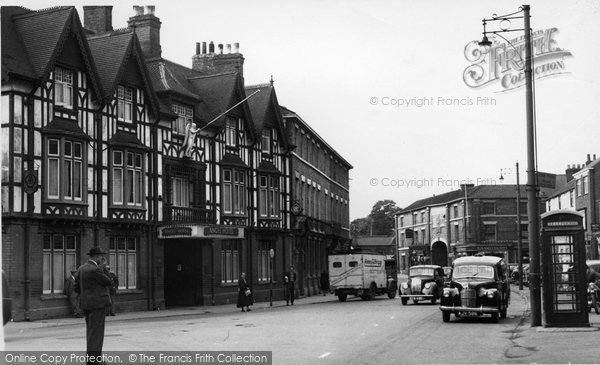 Brigg, Angel Hotel c.1950