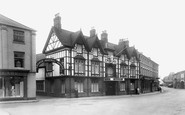 Brigg, Angel Hotel c1955