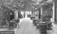 Brigg, Angel Hotel, The Court Yard c.1955