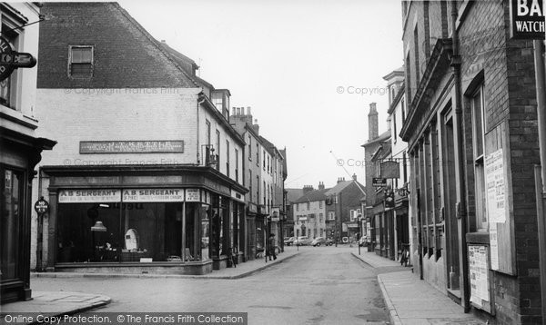 Brigg, Bigby Road c.1955