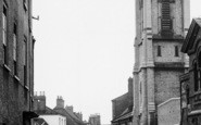 Brigg, Church, Bigby Street c.1955