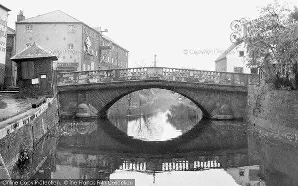 Brigg, County Bridge c.1955