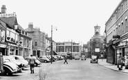 Brigg, Market Place c.1954