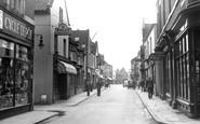 Brigg, Wrawby Street c.1954