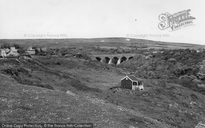 Brighstone, Bridge And Downs c.1955