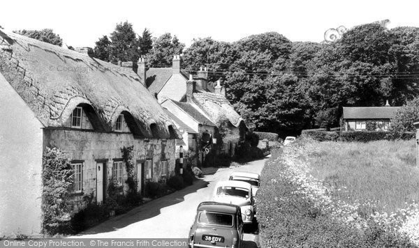 Brighstone, Old Cottages c.1960
