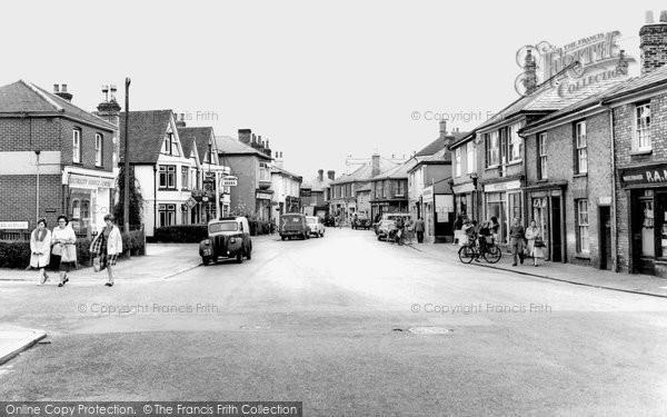 Brightlingsea, High Street c.1955