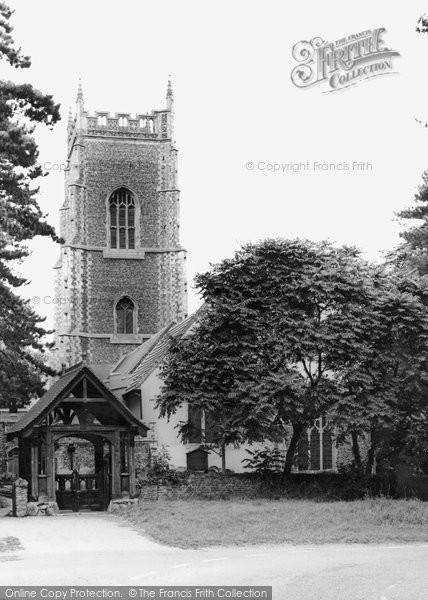 Brightlingsea, Parish Church Of Alll Saints c.1955
