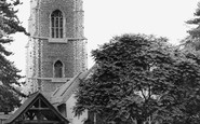 Brightlingsea, Parish Church Of Alll Saints c.1955