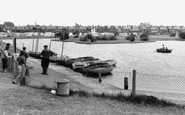 Brightlingsea, the Boating Lake c1960