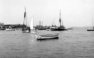Brightlingsea, The Creek From The Stone At Point Clear c.1960