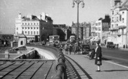 Brighton, Aquarium Roundabout From East c.1955